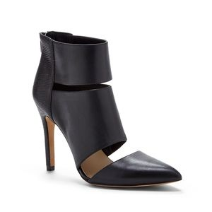 Sole Society Cutout Bootie Pumps